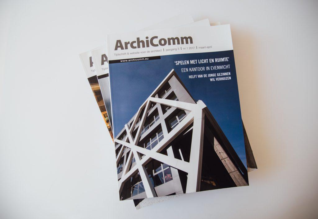 Louwers Media Groep vakblad magazines Bouwen aan Vlaanderen Interieurbouw Archicomm