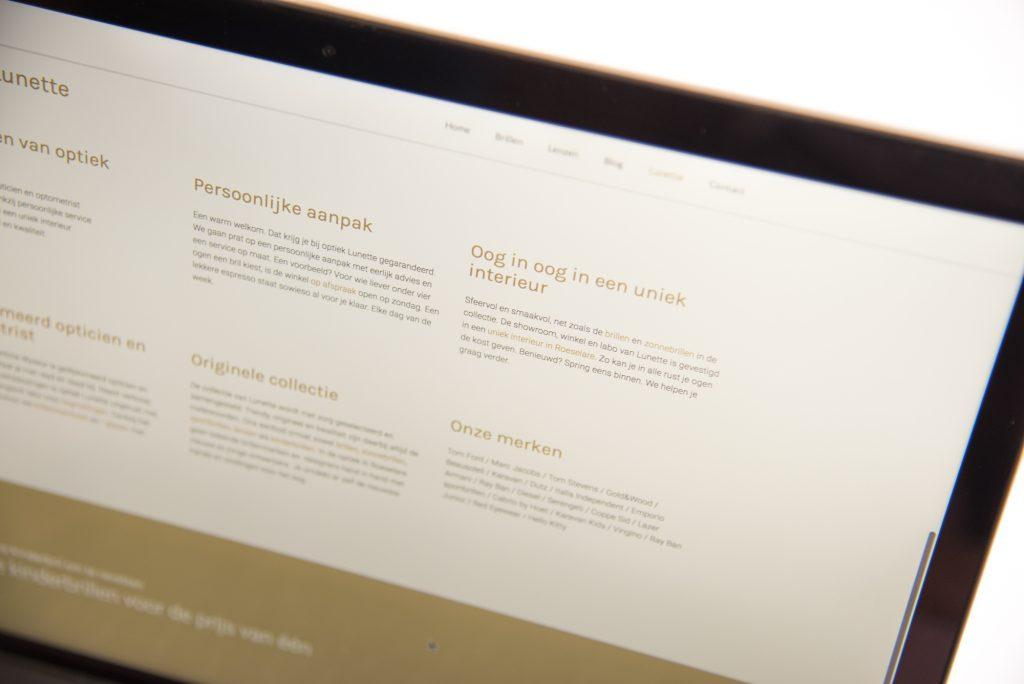 seo copywriting seo tips trefwoorden keywords optiek voorbeeld bliksem schrijfbureau kortrijk
