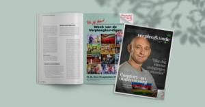 Netwerk Verpleegkunde, NVKVV, magazine, coordinatie, redactie, eindredactie